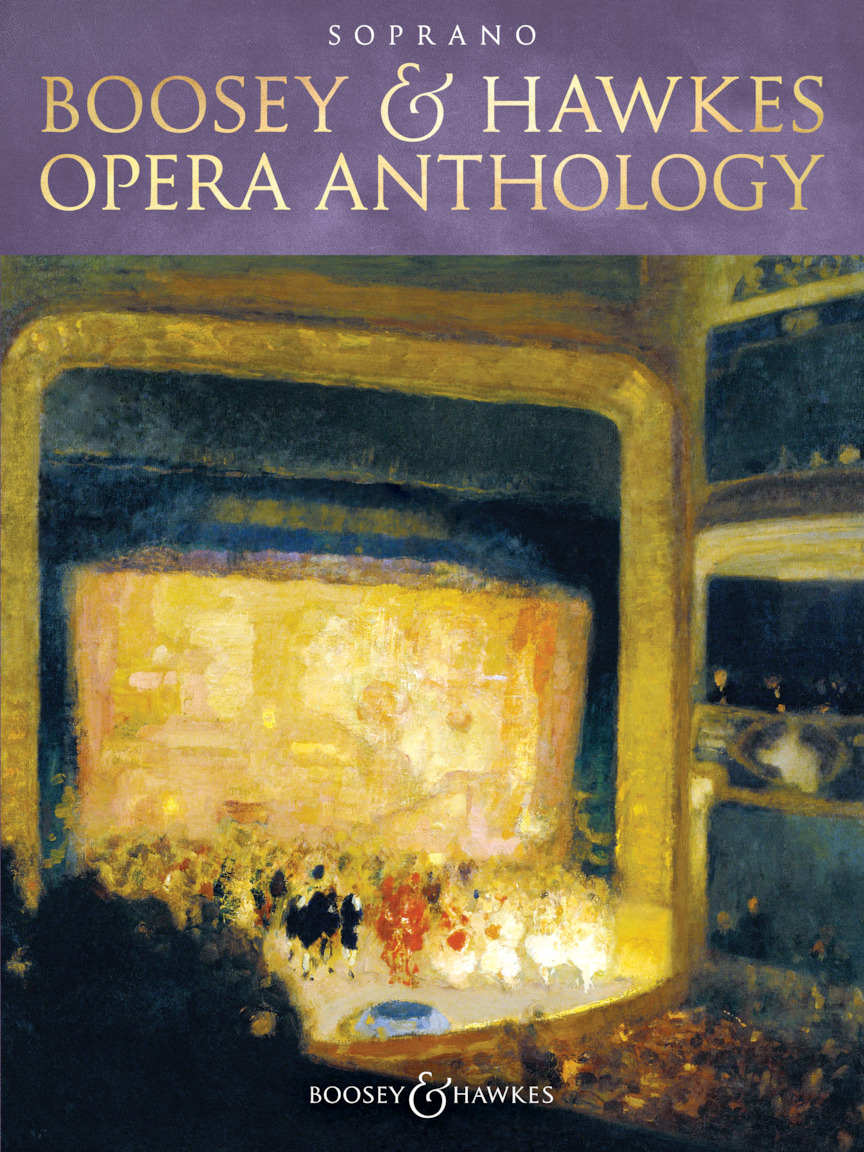 Product Cover for Boosey & Hawkes Opera Anthology – Soprano