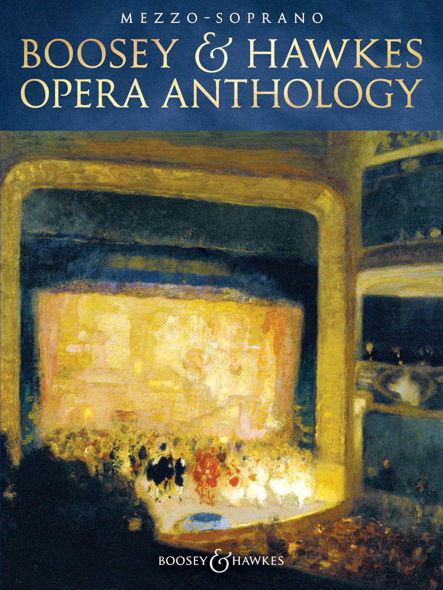 Product Cover for Boosey & Hawkes Opera Anthology – Mezzo-Soprano
