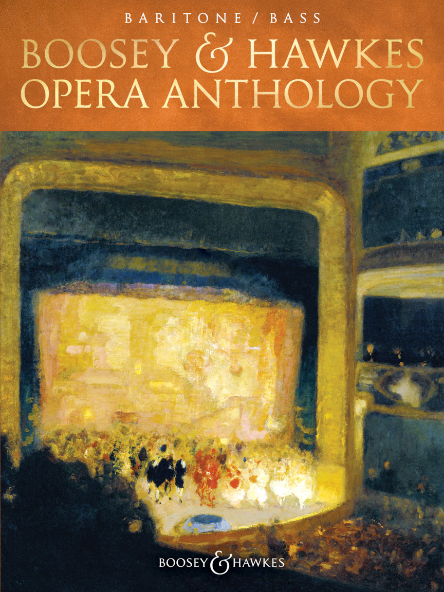 Product Cover for Boosey & Hawkes Opera Anthology – Baritone/Bass