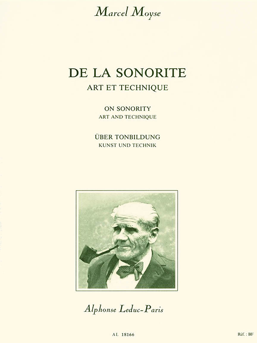 Product Cover for De La Sonorite: Art et Technique