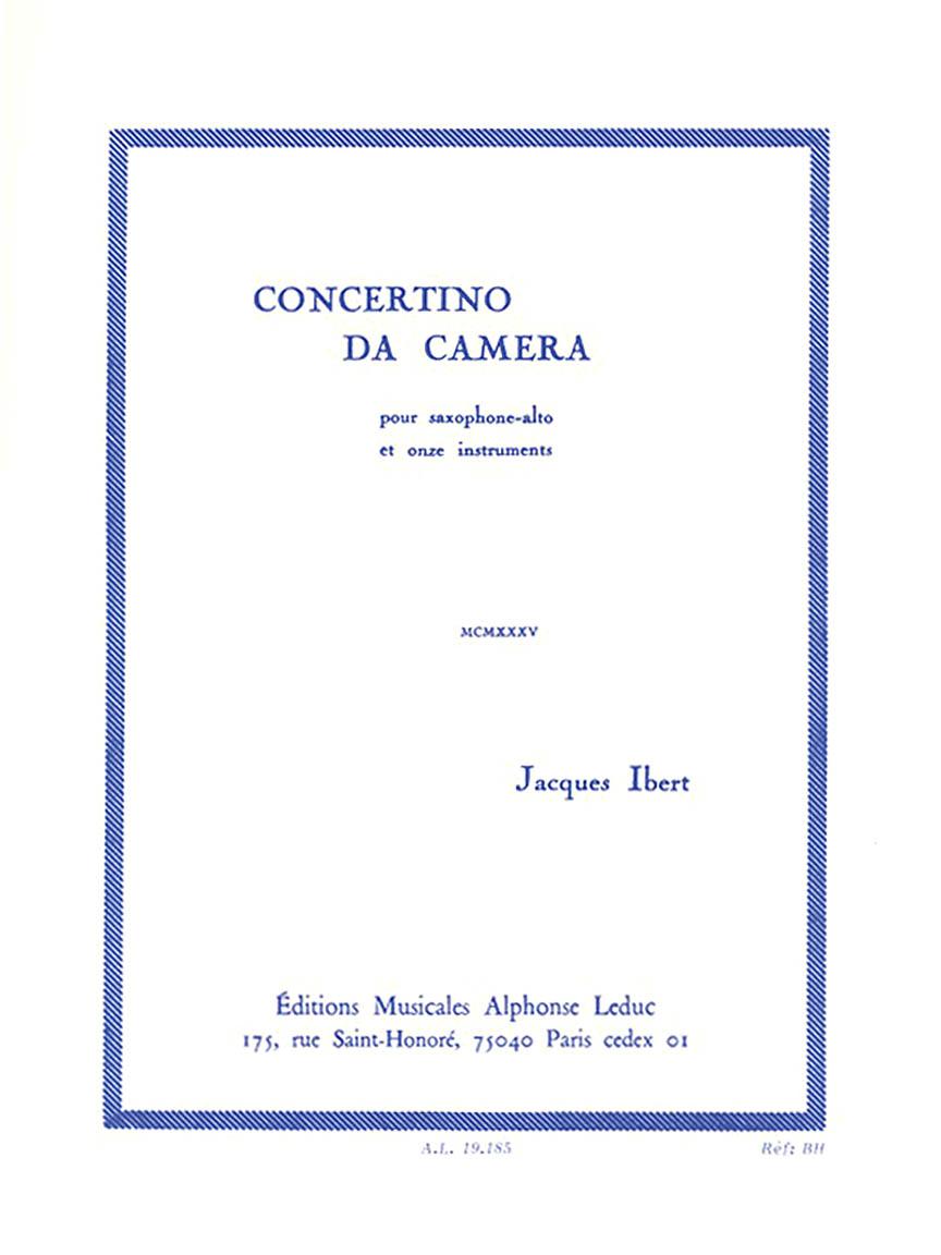 Product Cover for Concertino da Camera