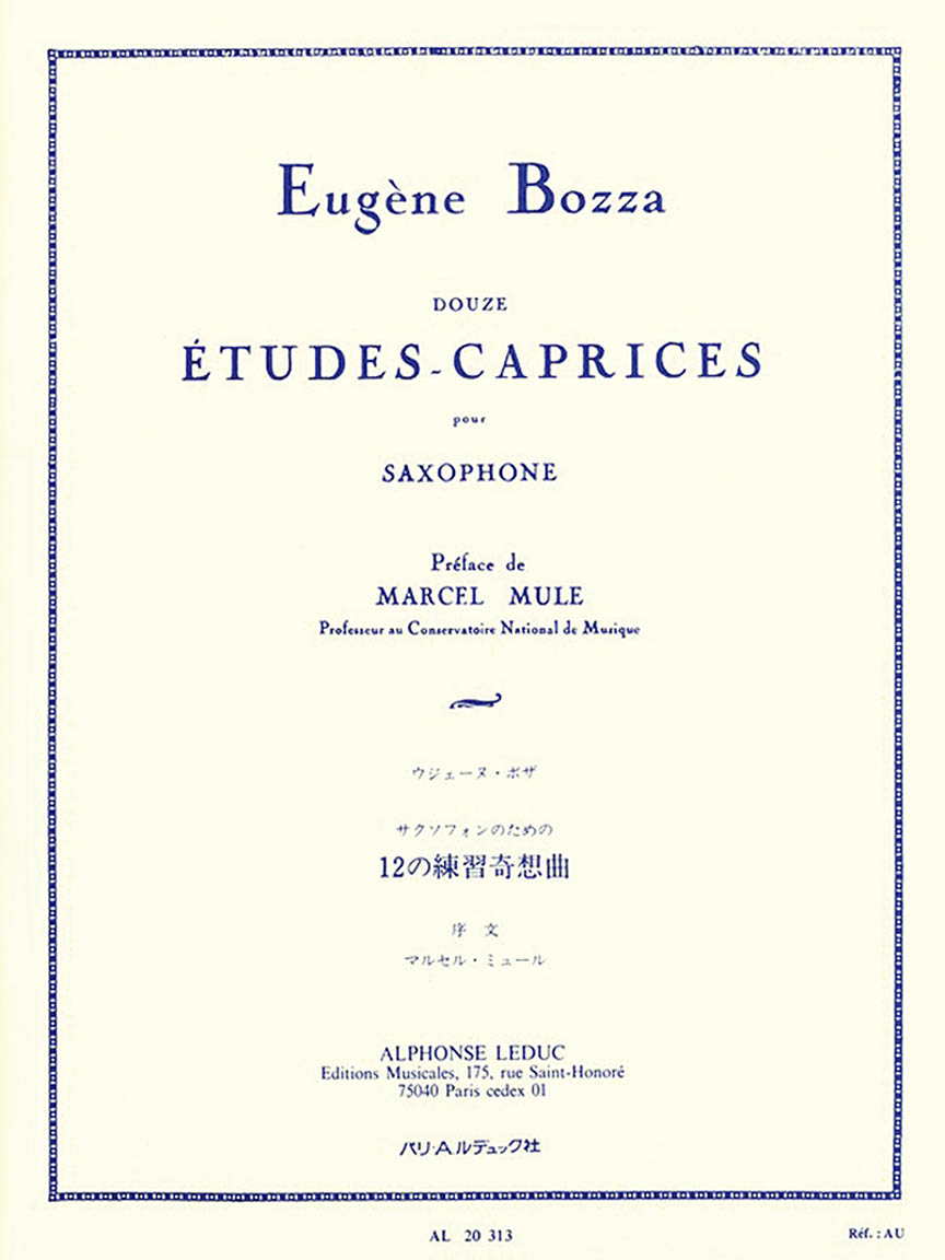 Product Cover for 12 Etudes-Caprices for Saxophone