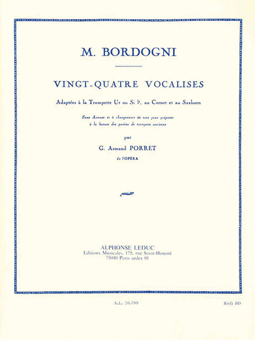 Product Cover for 24 Vocalises
