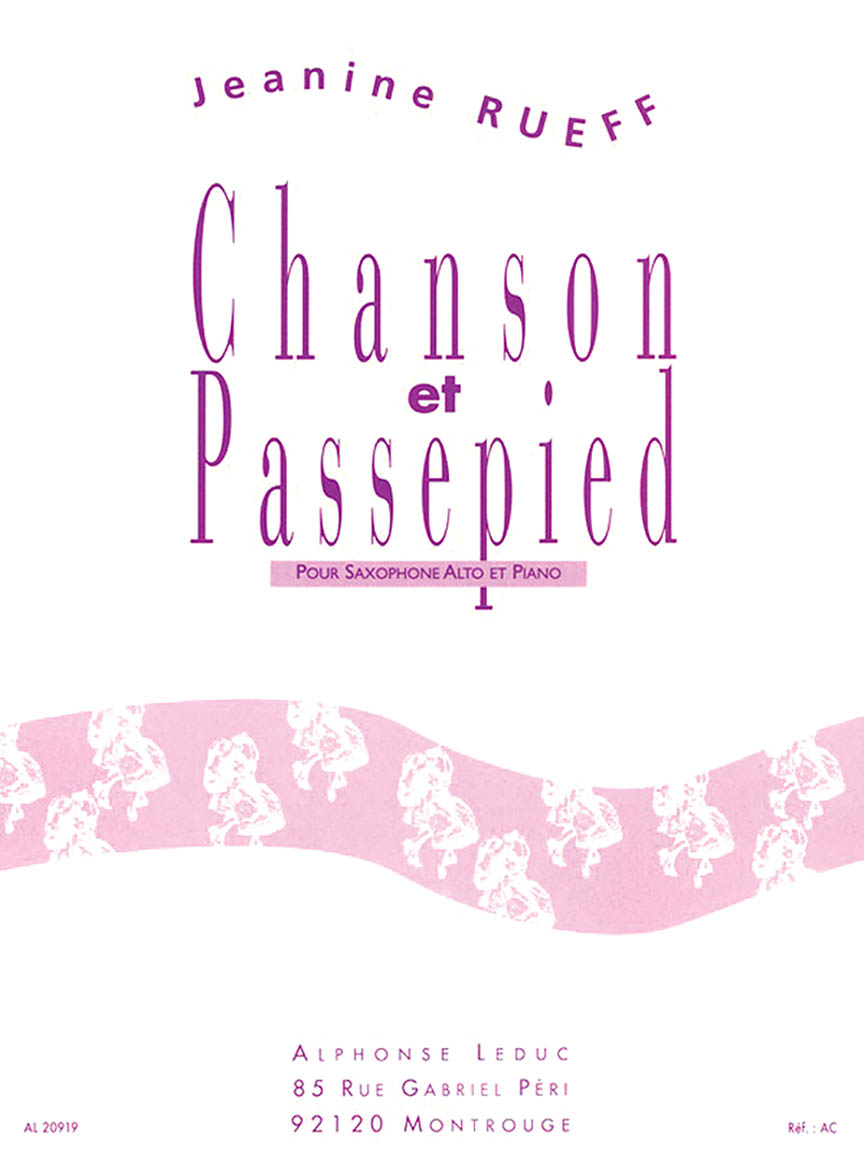 Product Cover for Chanson et Passepied
