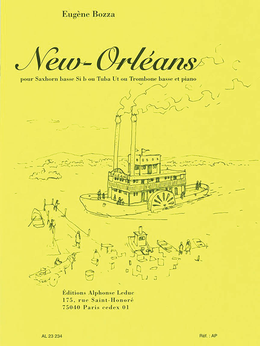 Product Cover for New-Orleans for Saxhorn Basse (or Tuba or Bass Trombone) and Piano