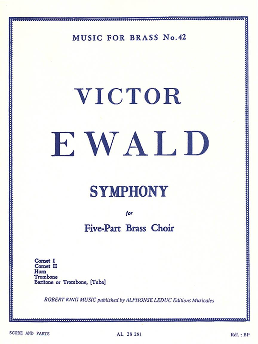 Product Cover for Victor Ewald - Symphonie Pour Cuivres A 5 Voix (arr. Robert King)