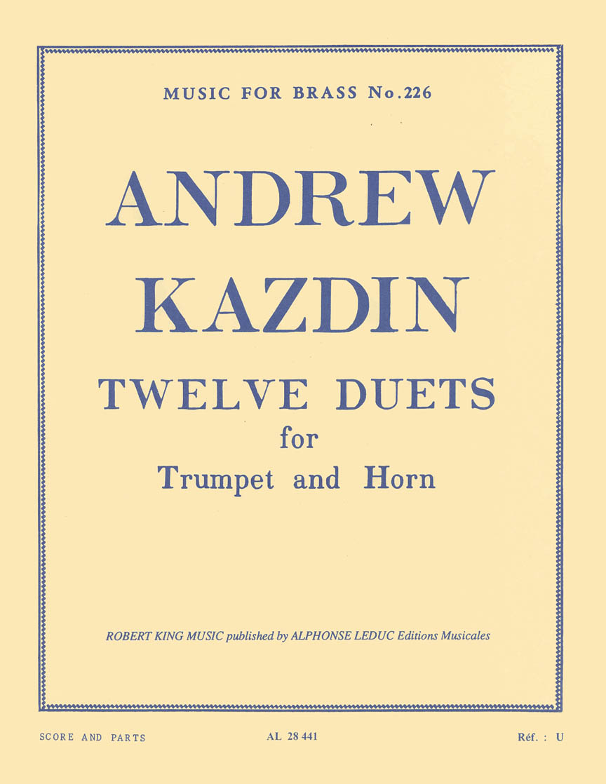 Product Cover for Twelve Duets For Horn And Trumpet