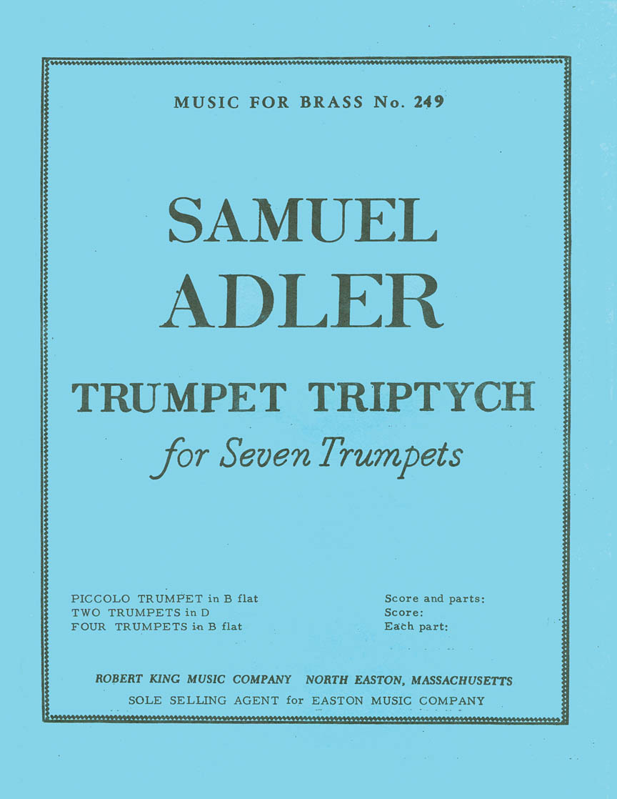 Product Cover for Trumpet Triptych (trumpet Ensemble (5 Or More))