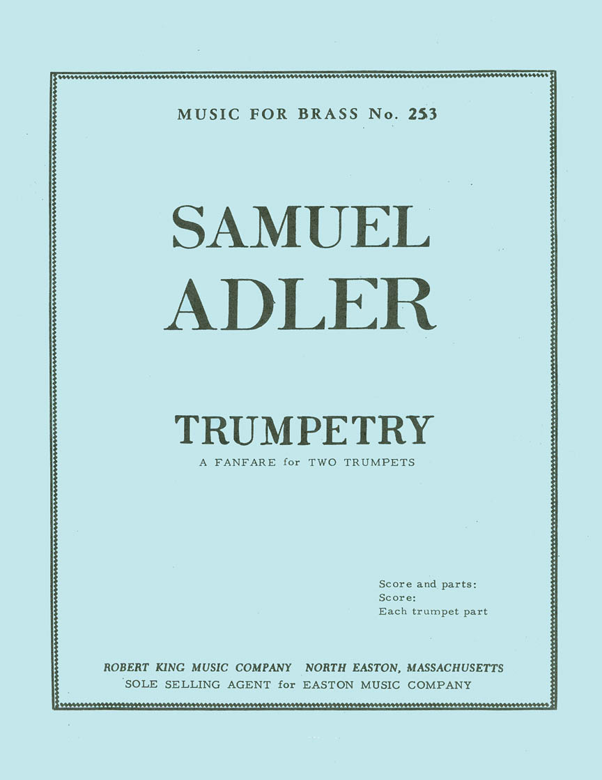Product Cover for Trumpetry (trumpets 2)