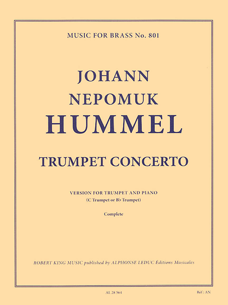 Product Cover for Trumpet Concerto in E-Flat