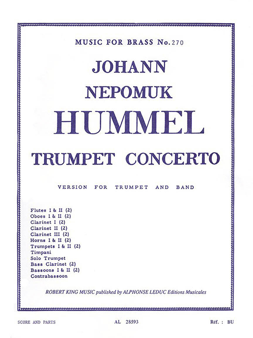 Trumpet Concerto Part s