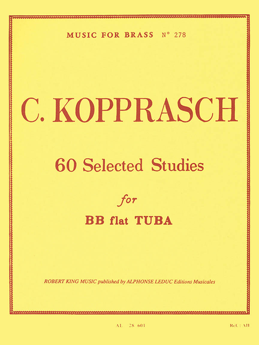 Product Cover for 60 Selected Studies for Tuba