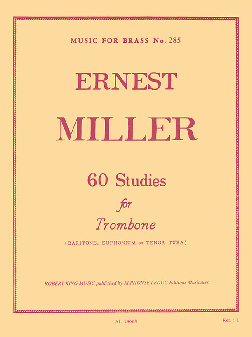 Product Cover for 60 Studies (trombone Solo)