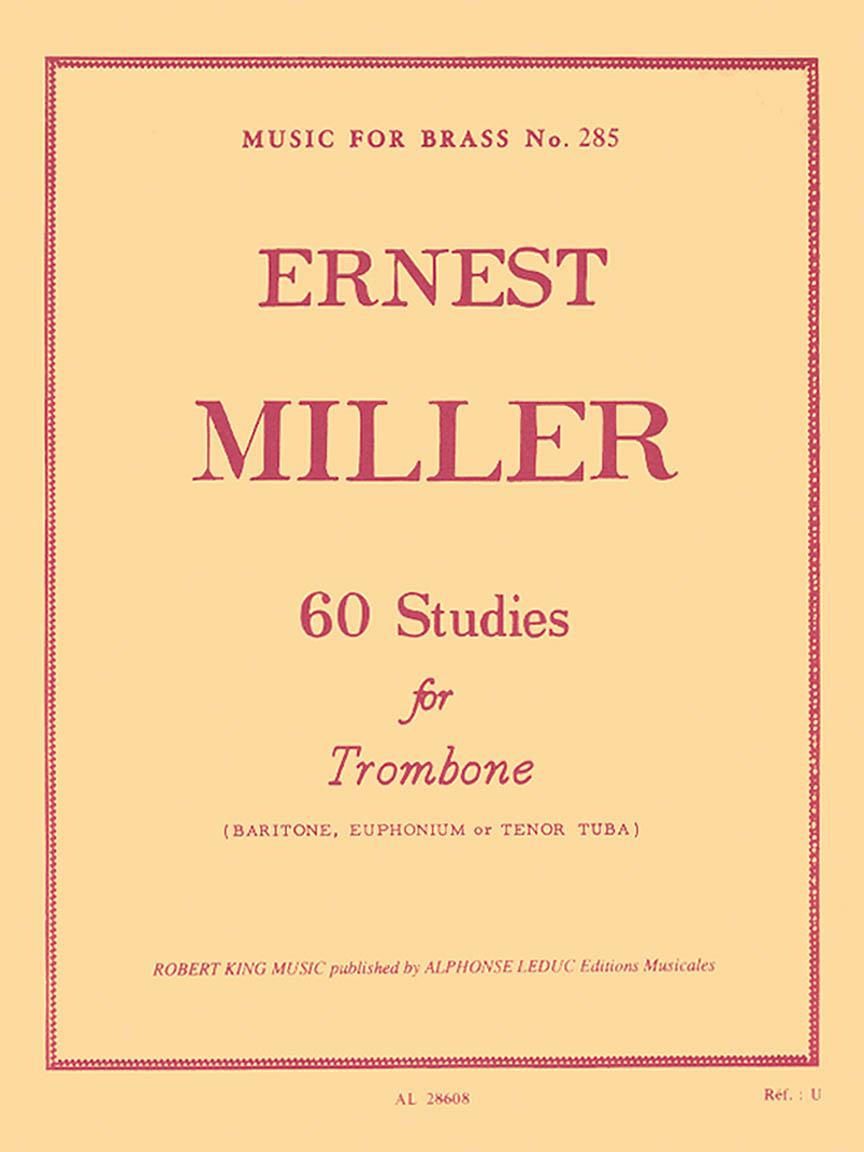 60 Studies (trombone Solo)