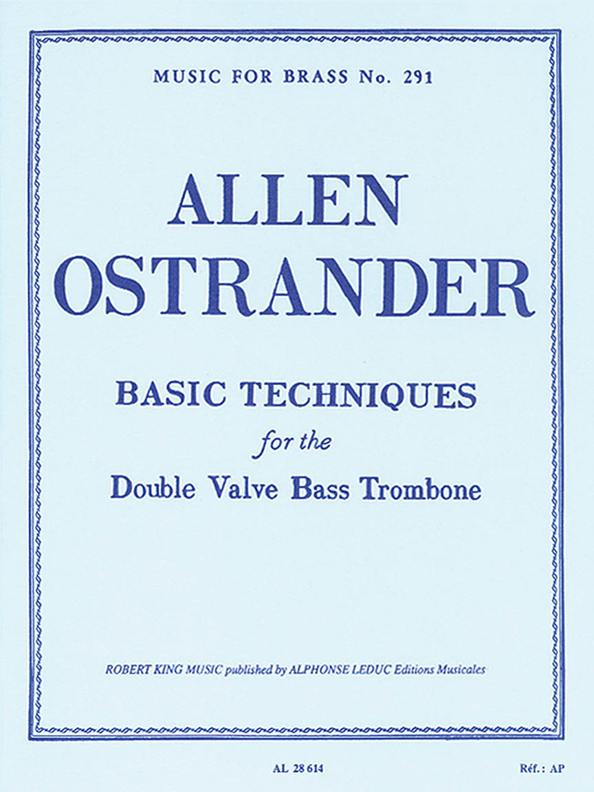 Product Cover for Basic Techniques (trombone-bass Solo)