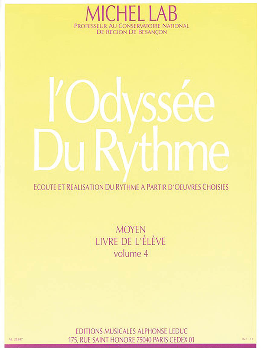Product Cover for The Odyssey Of Rhythm (volume 4)