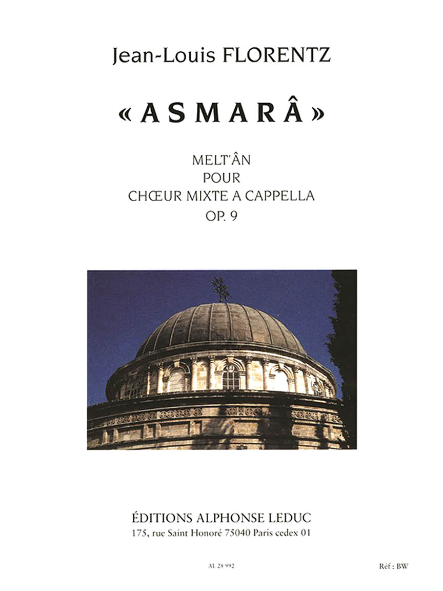 Product Cover for Asmara, For Choir
