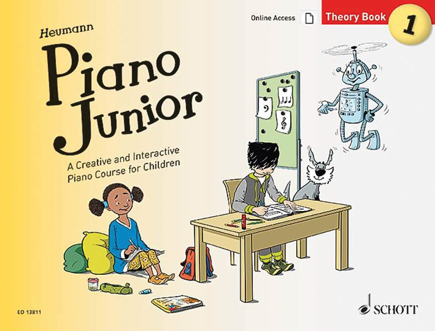 Product Cover for Piano Junior: Theory Book Vol. 1