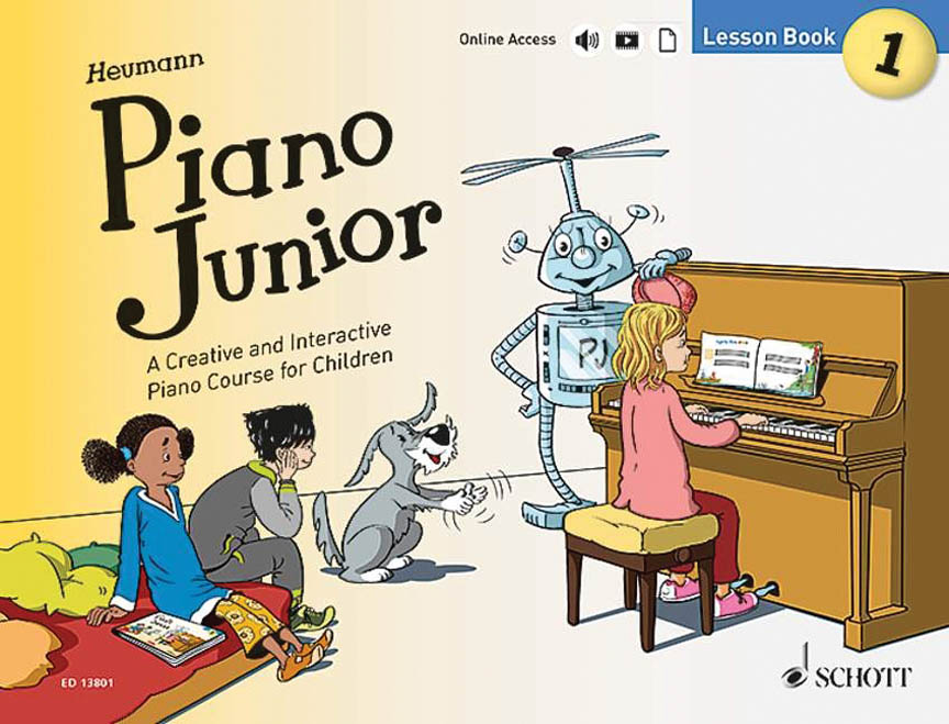 Product Cover for Piano Junior: Lesson Book 1