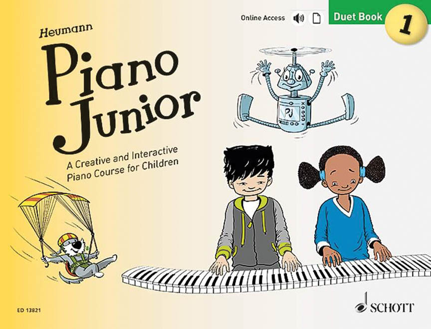 Product Cover for Piano Junior: Duet Book 1