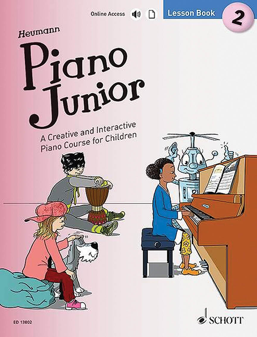Product Cover for Piano Junior: Lesson Book 2
