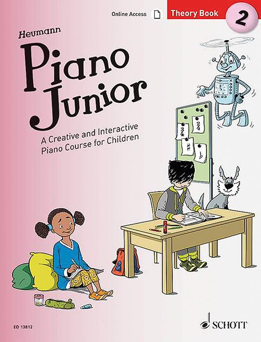 Product Cover for Piano Junior: Theory Book 2