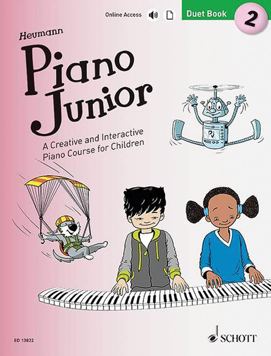Product Cover for Piano Junior: Duet Book 2