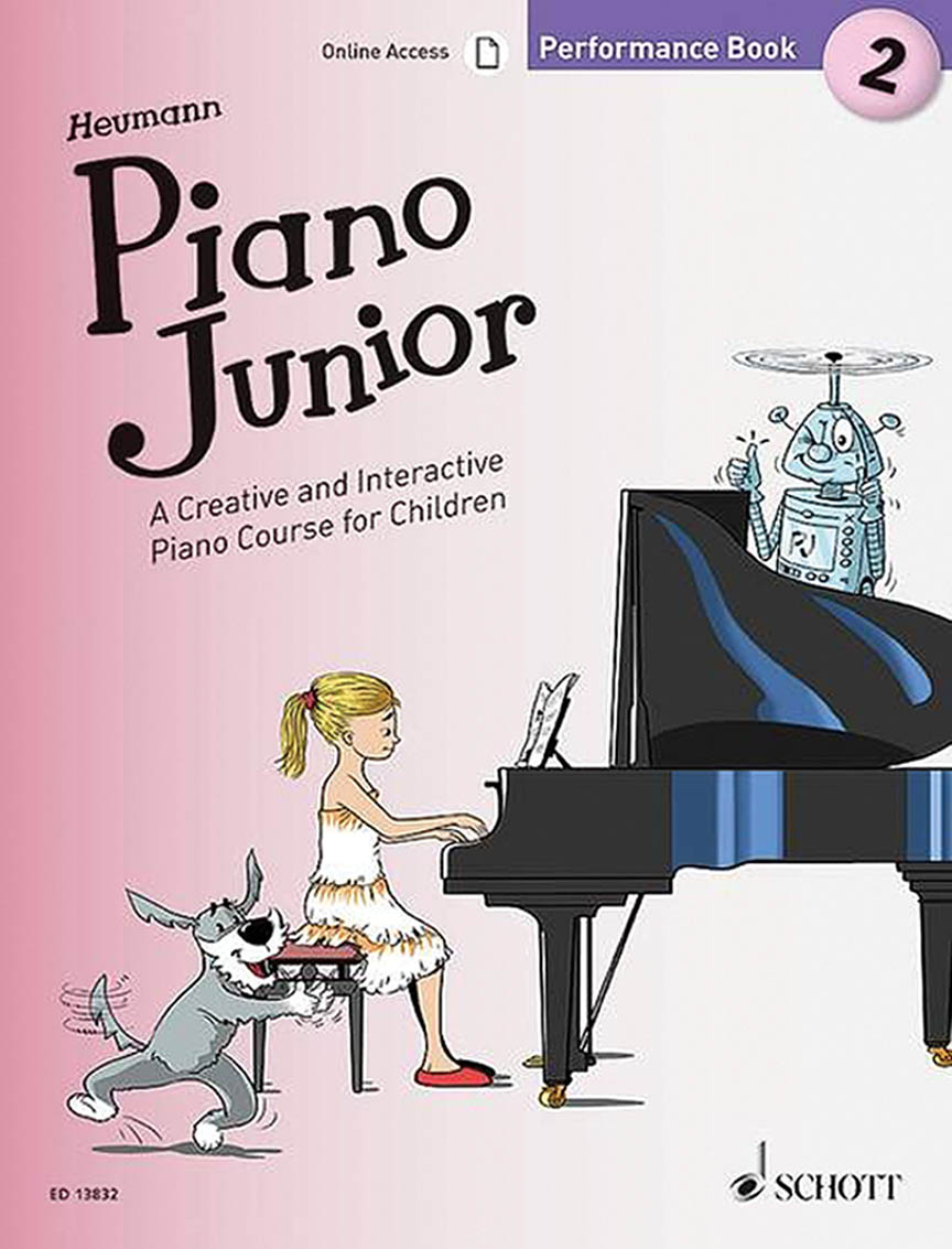 Product Cover for Piano Junior: Performance Book 2