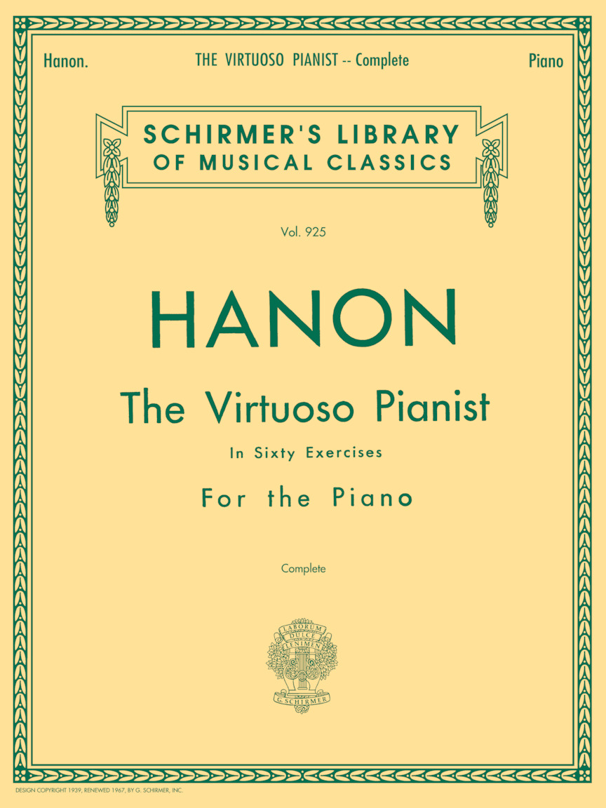 Product Cover for Hanon – Virtuoso Pianist in 60 Exercises – Complete