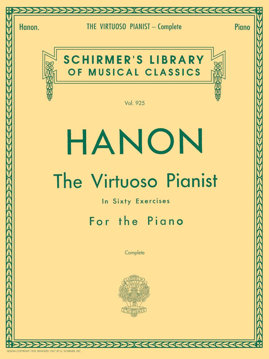 Hanon – Virtuoso Pianist in 60 Exercises – Complete