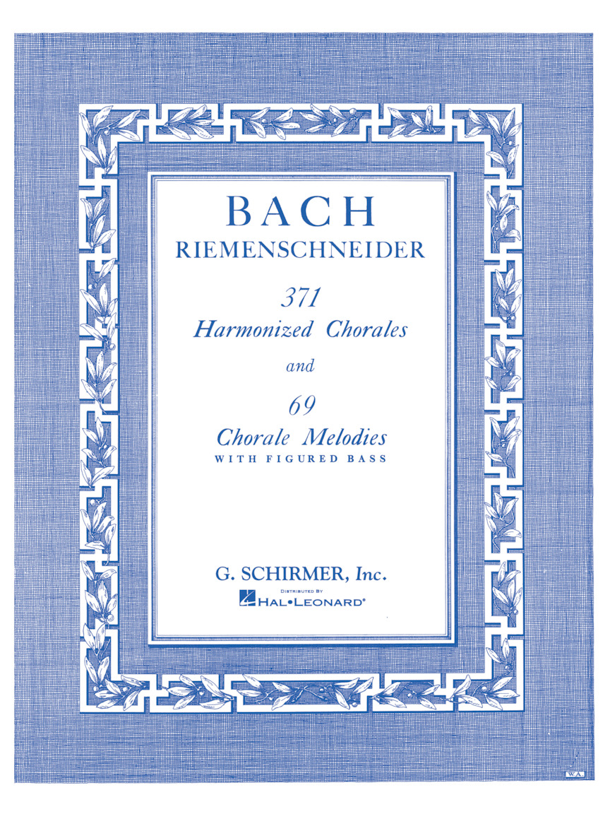 Product Cover for 371 Harmonized Chorales and 69 Chorale Melodies with Figured Bass