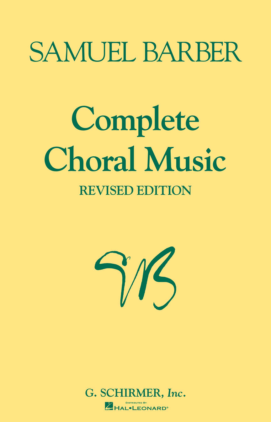 Product Cover for Complete Choral Music