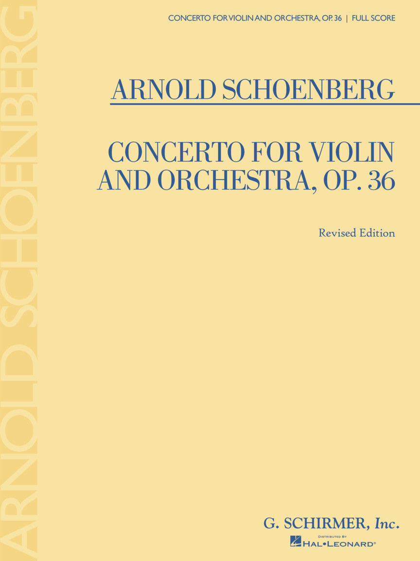 Product Cover for Concerto for Violin and Orchestra, Op. 36