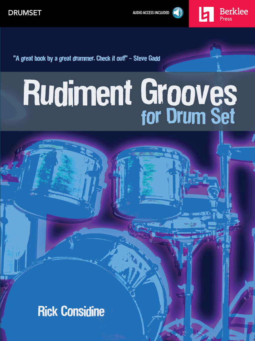 Product Cover for Rudiment Grooves for Drum Set