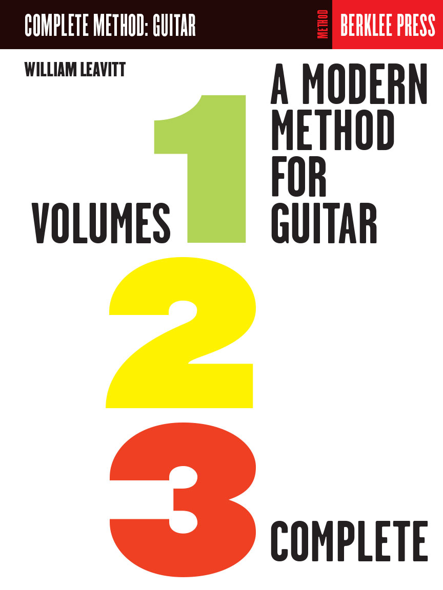 Product Cover for A Modern Method for Guitar – Volumes 1, 2, 3 Complete