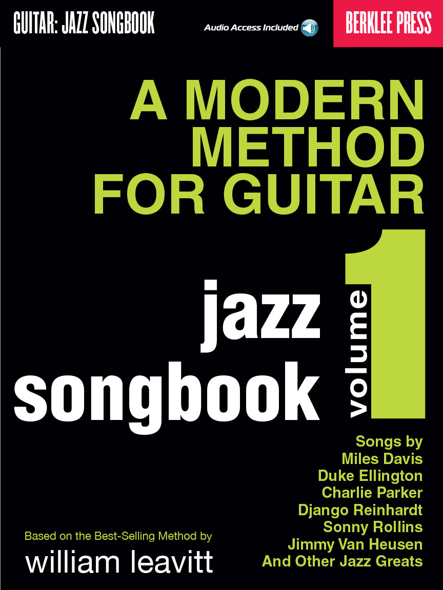 Product Cover for A Modern Method for Guitar – Jazz Songbook, Vol. 1