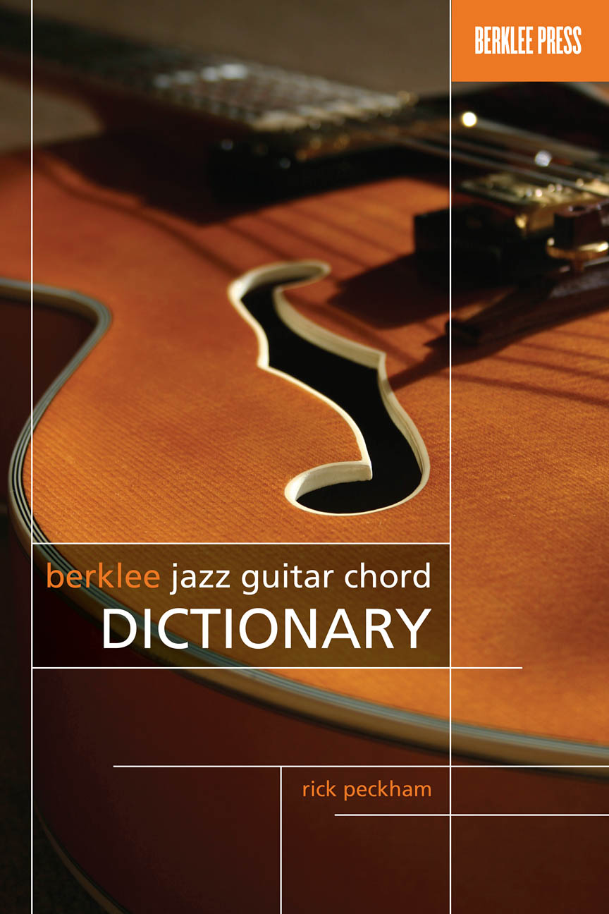 Product Cover for Berklee Jazz Guitar Chord Dictionary