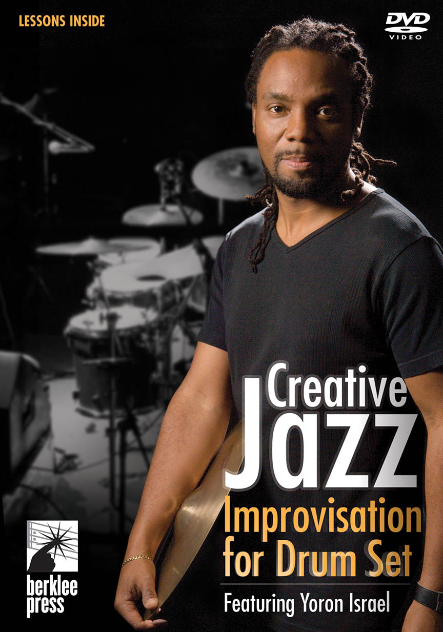 Product Cover for Creative Jazz Improvisation for Drum Set