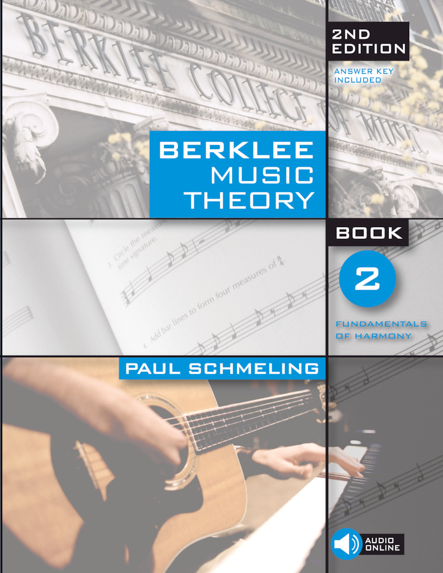 Product Cover for Berklee Music Theory Book 2 – 2nd Edition