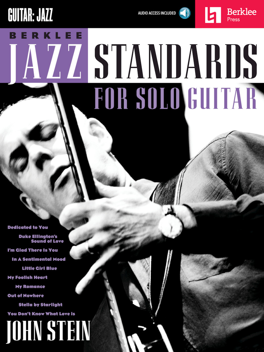 Product Cover for Berklee Jazz Standards for Solo Guitar