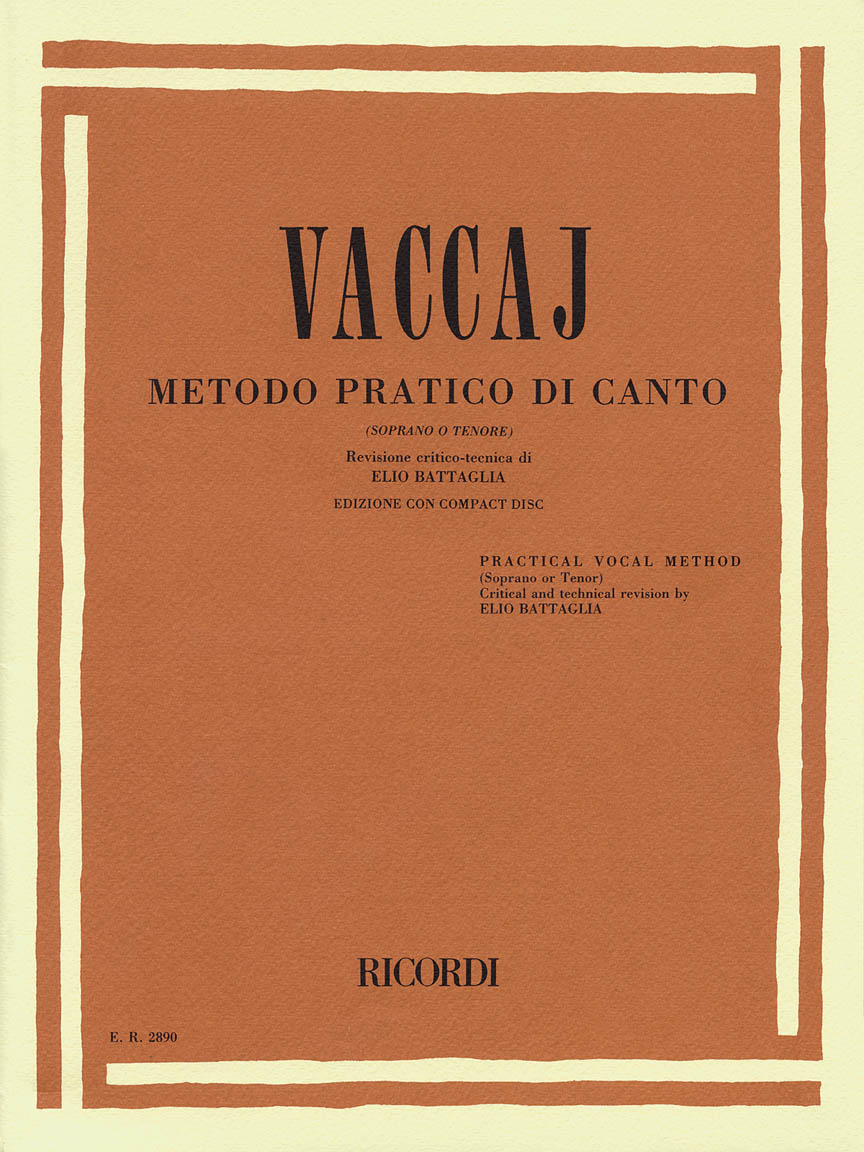 Product Cover for Practical Vocal Method (Vaccai) - High Voice