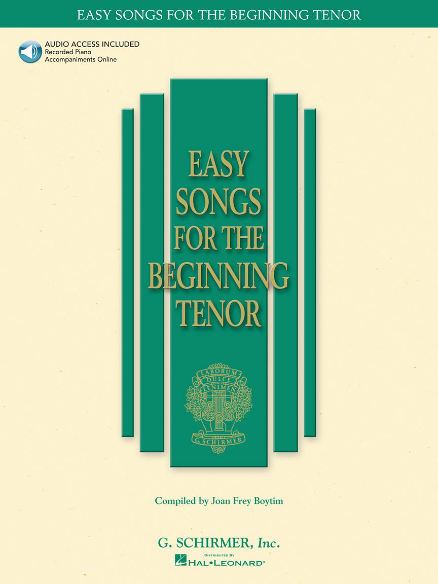 Product Cover for Easy Songs for the Beginning Tenor