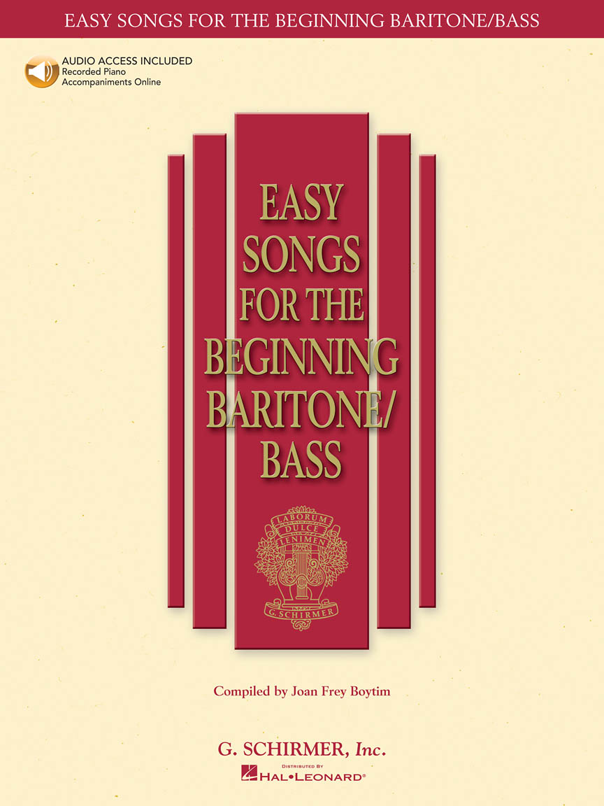 Product Cover for Easy Songs for the Beginning Baritone/Bass