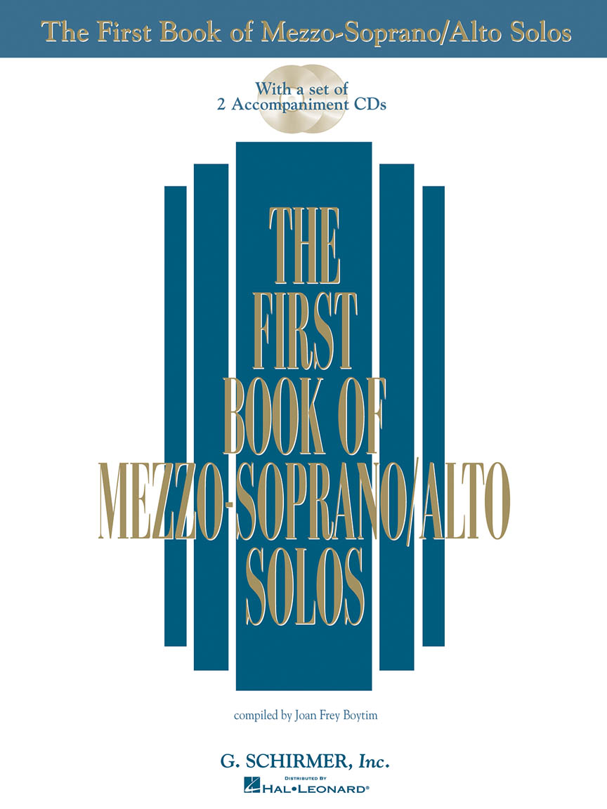Product Cover for The First Book of Mezzo-Soprano/Alto Solos