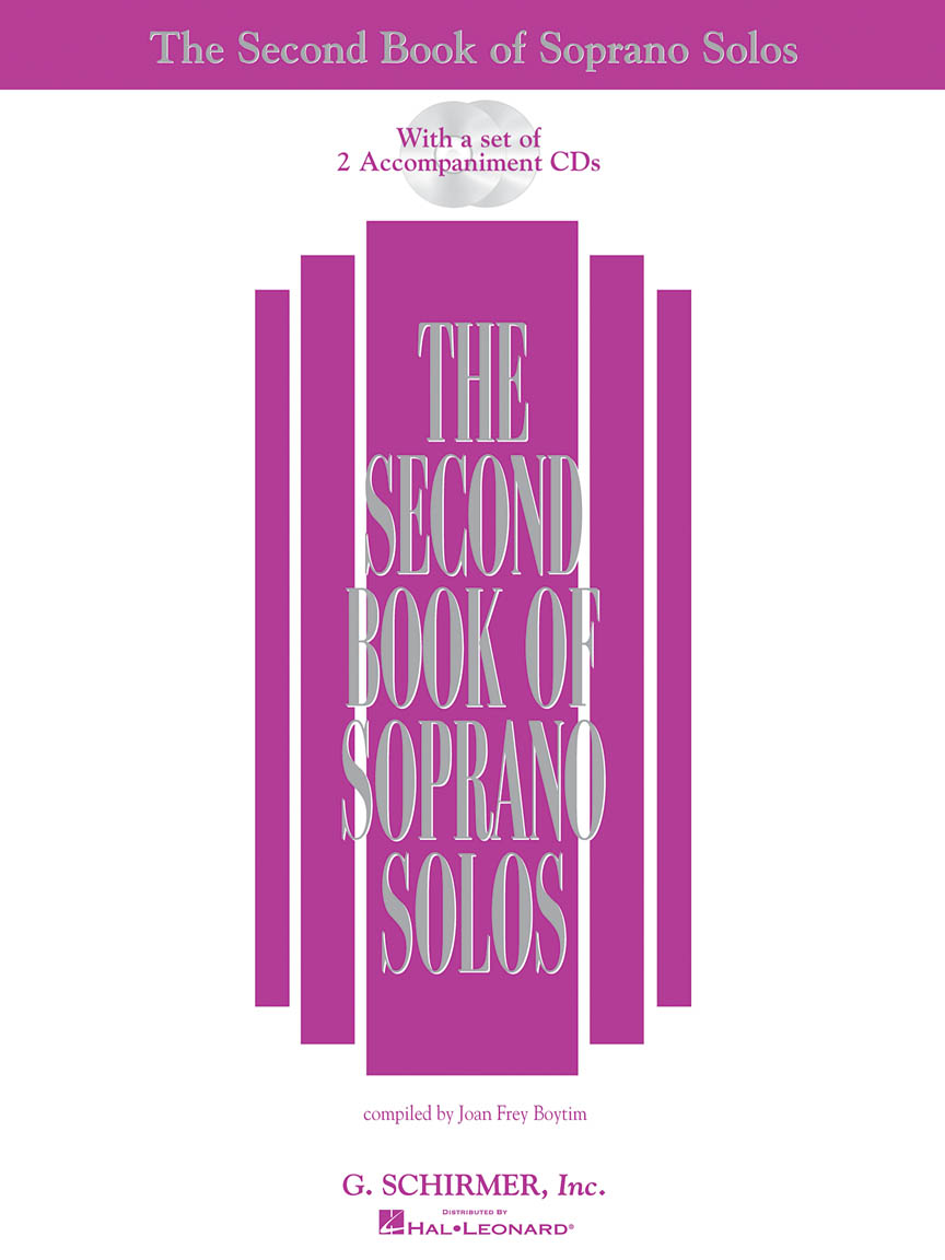Product Cover for The Second Book of Soprano Solos