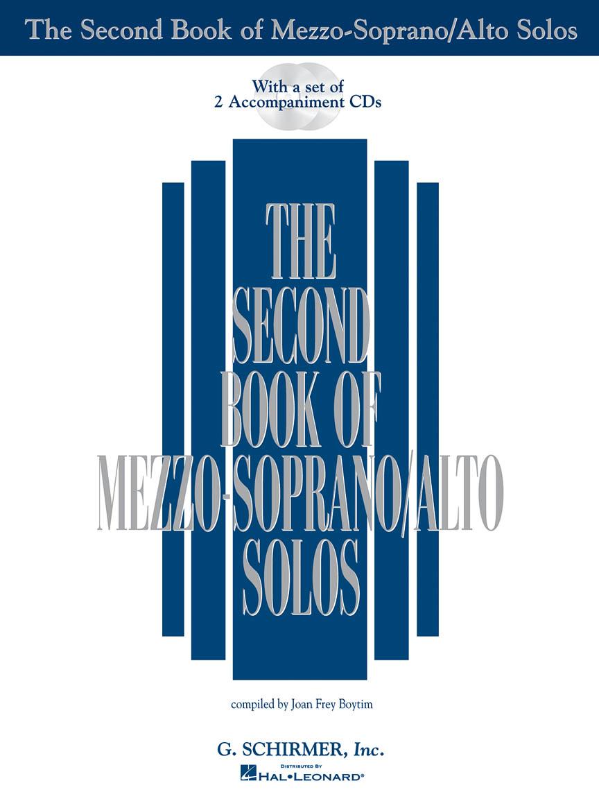 Product Cover for The Second Book of Mezzo-Soprano/Alto Solos