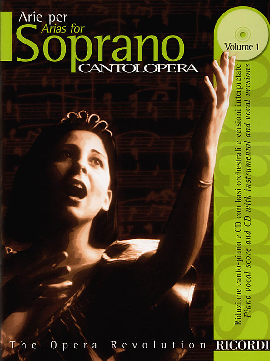 Product Cover for Cantolopera: Arias for Soprano - Volume 1