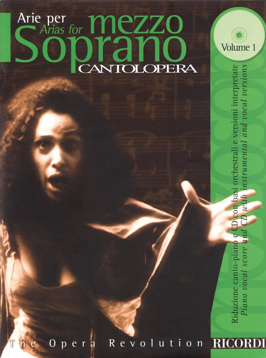 Product Cover for Cantolopera: Arias for Mezzo-Soprano - Volume 1
