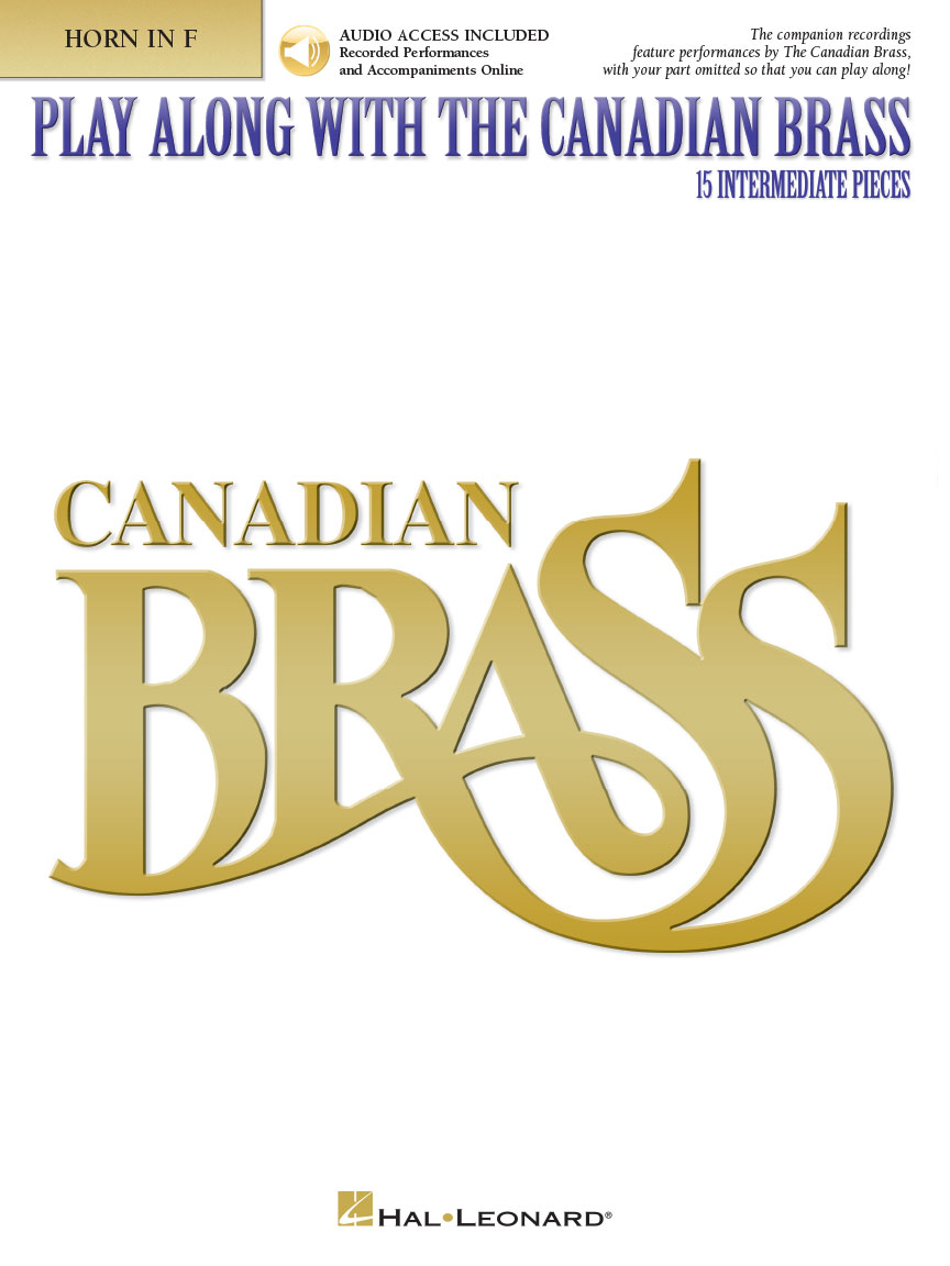 Product Cover for Play Along with The Canadian Brass – Horn