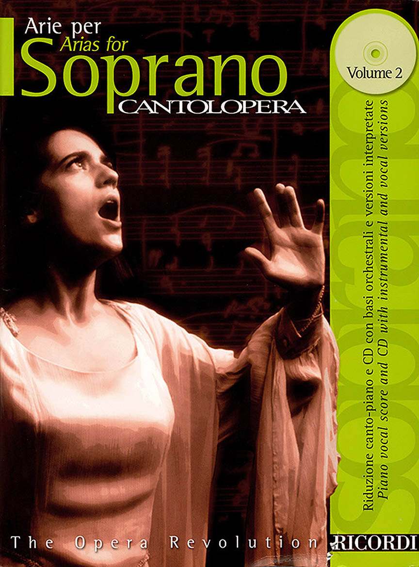 Product Cover for Cantolopera: Arias for Soprano - Volume 2